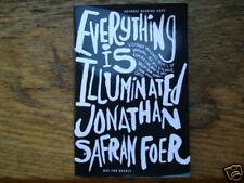 EVERYTHING IS  ILLUMINATED Jonathan Safran Foer 1/1