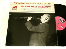 MILTON MEZZ MEZZROW Vol 10 Lee Collins Zutty Singleton Andre Persiany LP