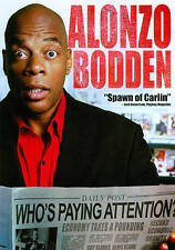 Alonzo Bodden: Who's Paying Attention? (DVD, Movie, Comedy, Widescreen) New
