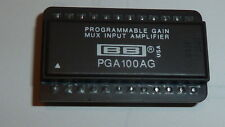 NEW PGA100AG Digital-Controlled Programmable Multiplexed Operational Amplifier