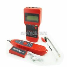 Network LAN Cable Tester Wire Tracker Length Scanner LCD Display NF-8208