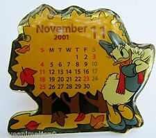 Disney TDL November Calendar Daisy Duck Japan Pin
