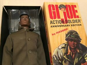 GI JOE 40TH ANNIVERSARY ACTION SOLDIER African American