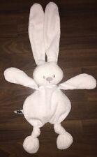 Nattou Schnuffeltuch Schmusetuch Kuscheltuch Hase Rabbit Weiß XL Knoten 55cm