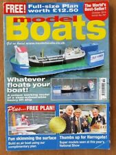 "Model Boats Plan ""Skimmer 5/600"" & Magazine October 2014 Vol.64 Issue 767"