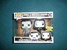 Funko Pop Addams Family Morticia and Gomez B&W 2-Pack EE Exclusive