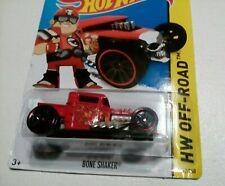 2014 Hotwheel ( 117/250) Hw Off-Road - Bone Shaker (red) new