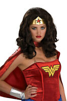 Women/'s Complete Costumes Strapless Corset Short Heroine Hottie Wonder Woman