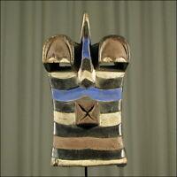 59941) Afrikanische Holz Maske Songye Kongo Afrika KUNST