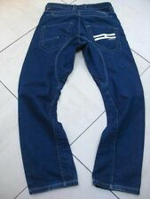 Mens HENLEYS JEANS size 30s W30 x L30 BUTTON FLY short 06595377 twisted leg arc