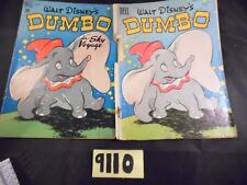 Lot of 2 Dell Disney's Dumbo Comics #668 and #234