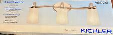 Kichler 3-Light Nickel Modern/Contemporary Vanity Light