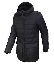 Adidas Men Climaheat Icezeit Hooded Padded Jacket Winter Black Parka Coat  BS0998 d78d812efd1e