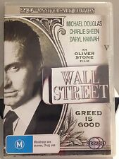 WALL STREET - GREED IS GOOD ( 2 DISC SET) (R4 - LIKE NEW) - DVD #179