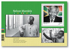 NELSON MANDELA 2015 CANADA STAMP BOOKLET & MINISHEET MNH