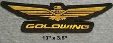 Honda Gold Wing Embroidered Patch jacket back or shirt front goldwing motorcycle