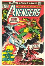 AVENGERS 116 7.0 SILVER SURFER VISION BLACK PANTHER GIANT MAN NICE PAGES RC