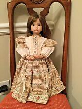 "1991 Expressions Dianna Effner 19"" Porcelain Doll - Emily - OOAK"