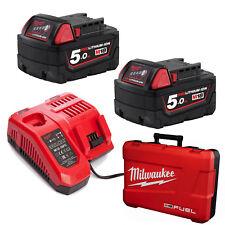 Milwaukee 18V Cordless M18 battery 5AMP Rapid charger 5Ah Kit - AU STOCK