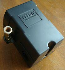 New listing Air Compressor Pressure Switch Control Single Port 120V/240V 95-125 Psi Dpst