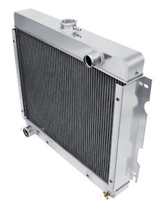 1970-1972 Dodge Dart Radiator Plymouth Duster, Valiant Champion 4 Row