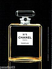 PUBLICITE ADVERTISING 026  2010  Chanel parfum N° 5 & Eau première ( 4 p)