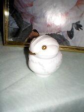 Avon Vintage Snow Bird Milk Glass Chick Collectible Circa 1973