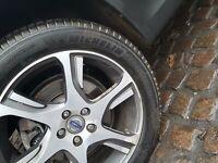 Michelin Cross Milieu SUV Pièce Porté Pneu 235 50 18 6-7MM Pneu #1