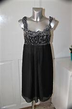 adorable black dress superimposed COP COPINE model universe size 3 MINT