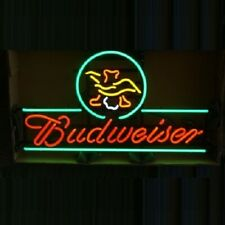 "New Budweiser Eagle Bar Neon Light Sign 24""x20"""