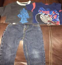 Toddler Boy's 2T Lot Gymboree OshKosh Jeans Shirts