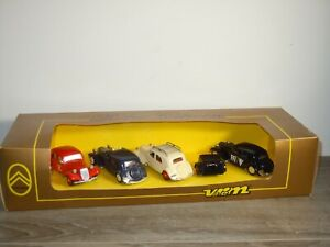 Citroen Traction Set - Verem 910 France 1:43 in Box *51676