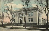 Flatbush Brooklyn NY Library c1910 Postcard