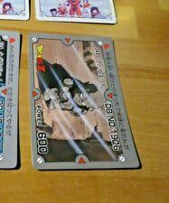 DRAGON BALL Z DBZ PP AMADA PART CARDDASS CARD CARTE 242 MADE IN JAPAN **
