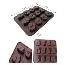 1pc Silicone Owl Cake Decorating Mould Candy Cookies Chocolate Soap Baking Mold
