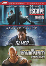 Escape Plan / Gamer / The Condemned (Bilingual New DVD