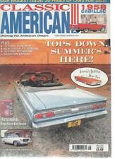 CLASSIC AMERICAN MAGAZINE May 2002 No 133 '57 Ford Sunliner AL