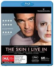 *New & Sealed* The Skin I Live In (Blu-ray, 2013) Antonio Banderas