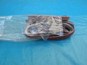 25 x Schleifband 10 mm breit 60 bis 120er Körnung NEU