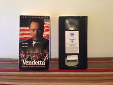 Vendetta VHS tape & sleeve