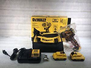DEWALT DCF601 XTREME 12V MAX BL 1/4 in. Li-Ion Screwdriver Kit New