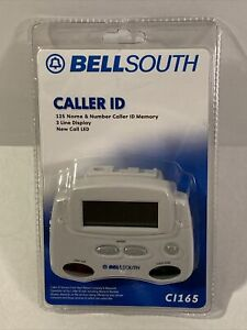 BELLSOUTH Caller ID 3 Line Screen Name & Number 125 Caller Memory Free Shipping