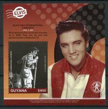 Guyana 2018 MNH Elvis Presley His Life in Stamps 1v S/S I Music Celebrities