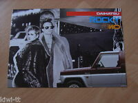 Daihatsu Rocky 4WD (Softtop, Hardtop, Wagon) Prospekt / Brochure / Depliant, NL