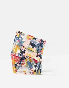 Joules Womens Non Medical Face Covering - Blue Floral - One Size