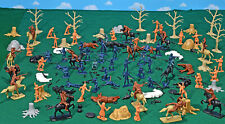 Custer's Last Stand Playset - 54mm Plastic Soldiers