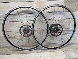 "2002 Custom Build Gravy Wheels Mavic Black 519 Rims Phil Wood Hubs 26"" Avid Disc"