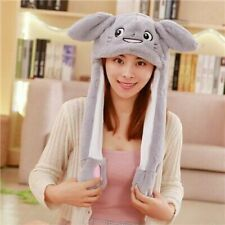 Attractive Moving Ear Cute Animal Plush Hat Funny Playtoy Rabbit Gifts Toys Soft