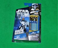 🔥 2010 STAR WARS THE CLONE WARS CAPTAIN REX FIGURE CW01 HASBRO FIRING MISSILE