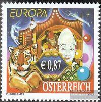 Österreich 2376 (kompl.Ausg.) postfrisch 2002 Zirkus